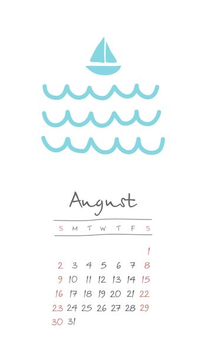 Calendar 2020 months August. Week starts Sunday