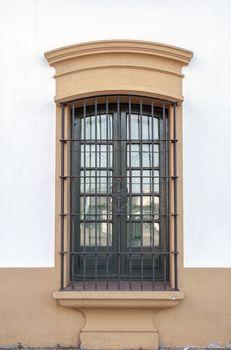 Spanish colonial window.