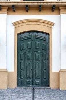 Spanish colonial door.