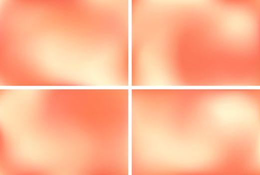 Orange yellow abstract background with light spots. Bright color holiday space.