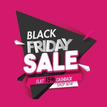 Black Friday Sale Concept.