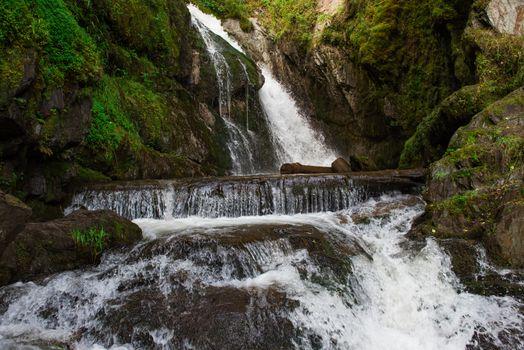 Choodor Waterfall at Lake Teletskoye