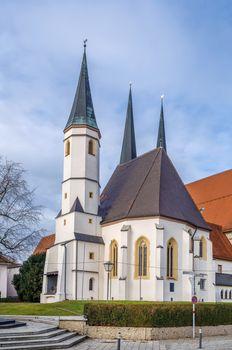 Tilly chapel in Altoetting, Upper Bavaria, Germany
