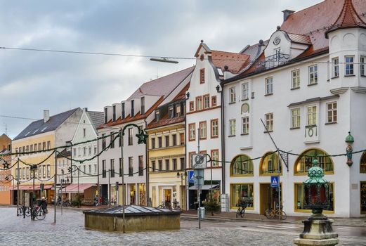Street in Freising, Germany