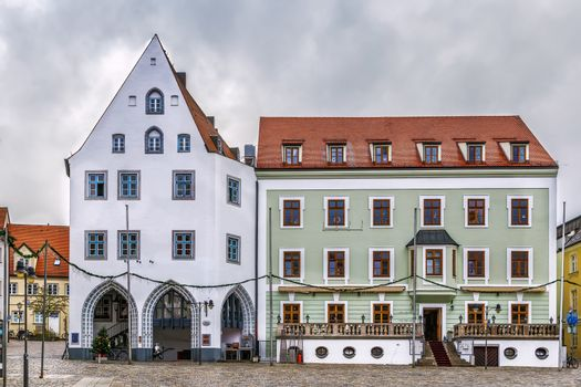 Square in Freising, Germany