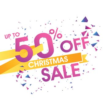 Christmas Sale Banner or Poster.