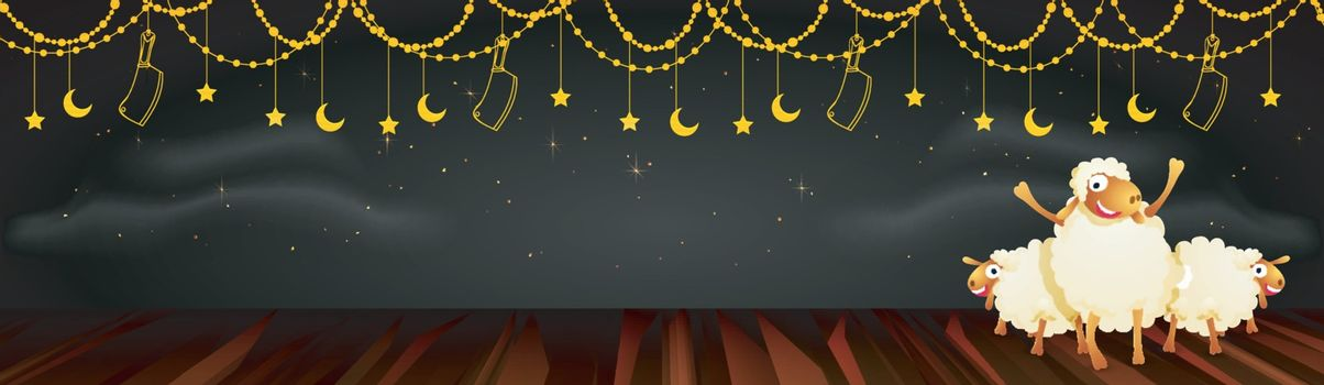 Social Media banner for Eid-Al-Adha celebration.