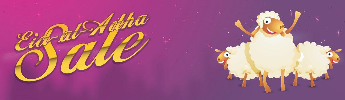 Eid-Al-Adha Sale social media banner design.