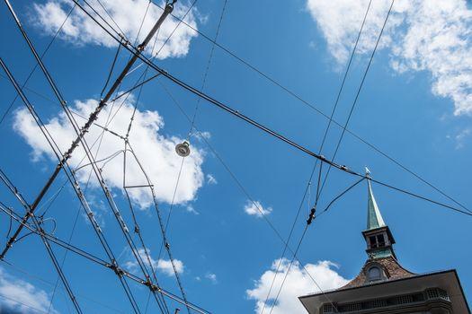 Power line Bern