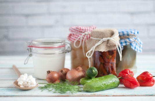 Prebiotic fermented foods