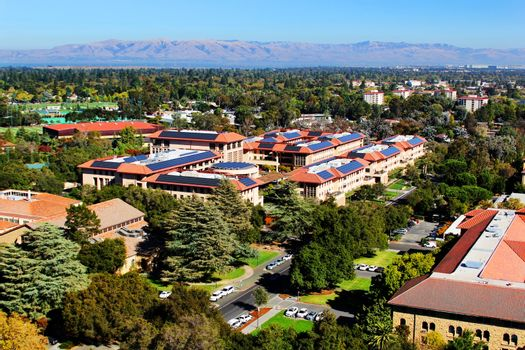 Main view Architecture in Stanford University