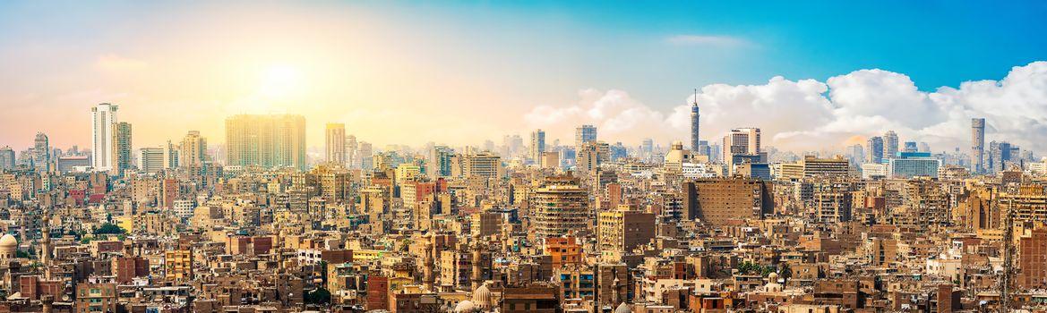 Cairo in evening