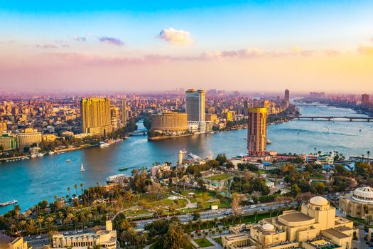 Cityscape Cairo City