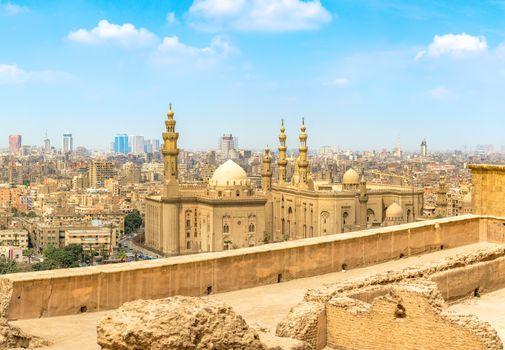 Mosque Sultan Hassan in Cairo