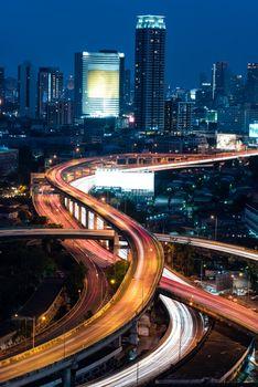 Bangkok Expressway top view