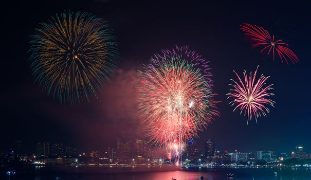 Firework Show at Pattaya