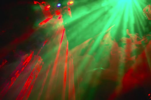 Color psychedelic lights