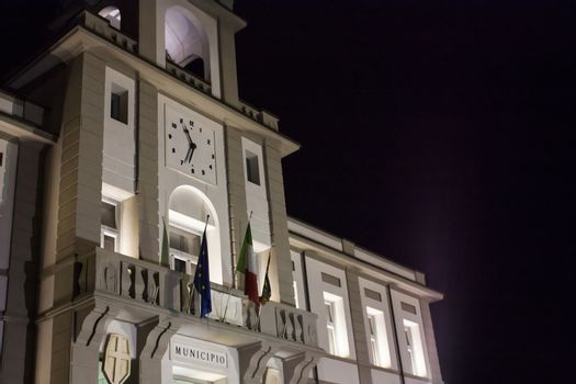 Town Hall of a small Italian country