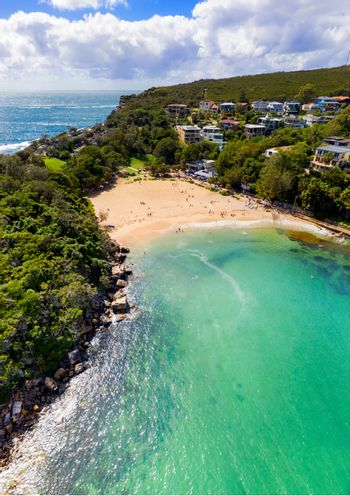 Views of Manly and Shelly Beach