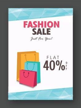 Fashion Sale Flyer, Banner, Pamphlet or Poster.