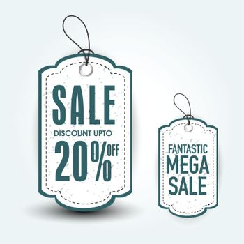 Fantastic Mega Sale Tags.