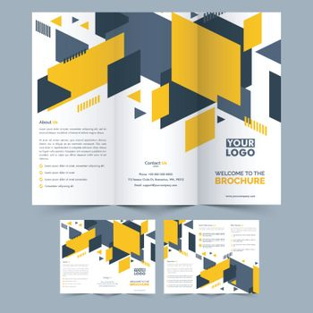 Two Page Three Fold Brochure design.