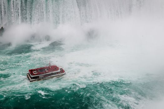 Niagara Falls by day from Canada