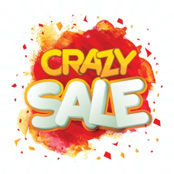 Crazy Sale Poster or Banner.