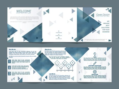 Three Fold Business Brochure design.