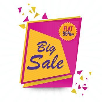 Big Sale Banner or Flyer.