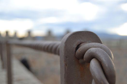 Handrail to infinity
