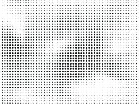 Modern dotted abstract background in halftone style.