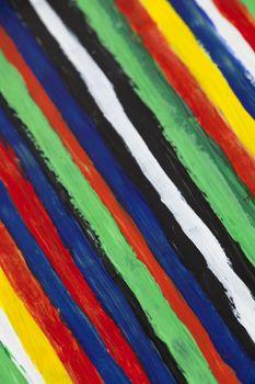 Modern striped artwork background