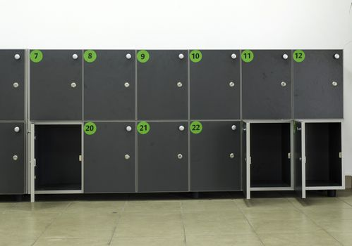 Cabinets safes luggage