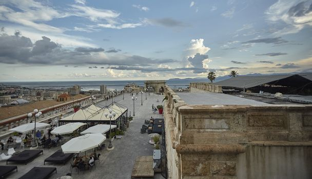 Seafront of the city of Cagliari