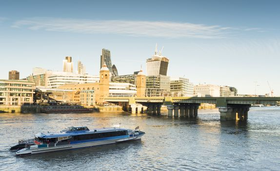 City of London on Thames