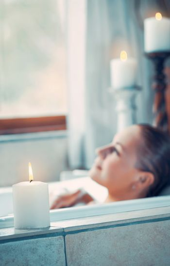 Aromatherapy and relaxation concept