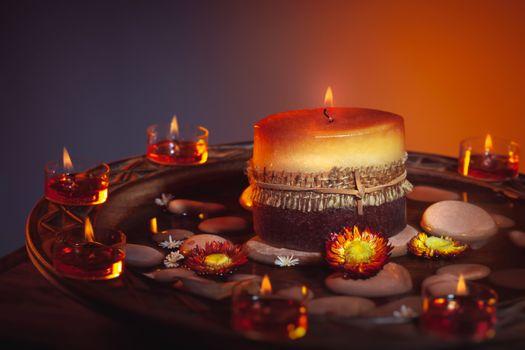 Candles decoration