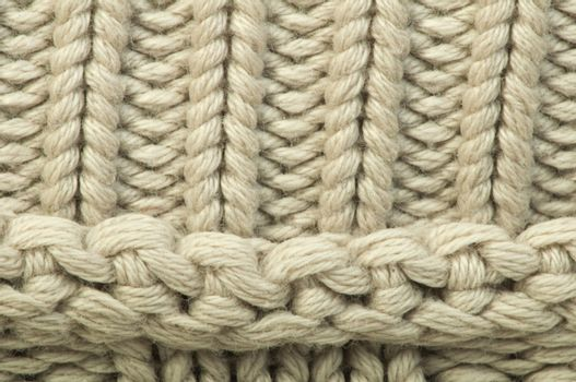 Old knit sweater background