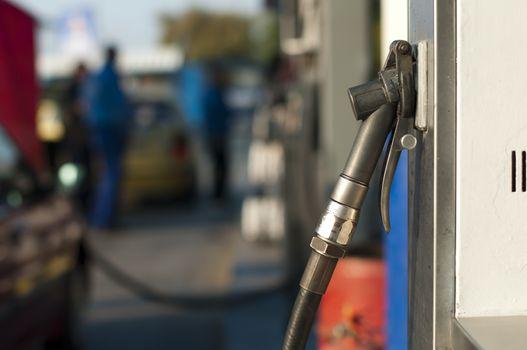 Gas dispenser for refuel natural gas