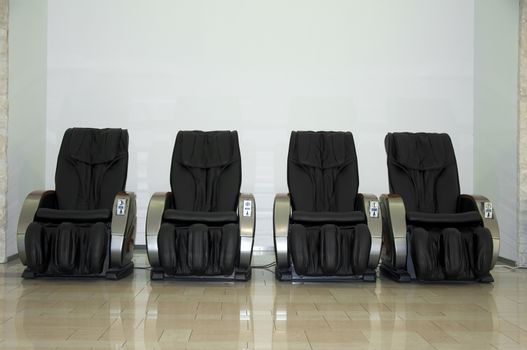 Electric massage chairs. Full automated