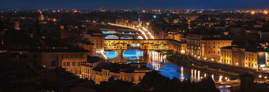 Night over Ponte Vecchio