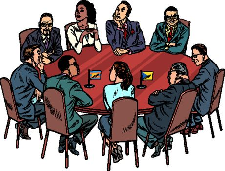 international negotiations diplomats