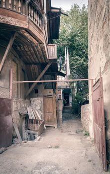 old slum house in Georgia