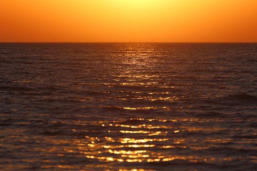 sunset bakground