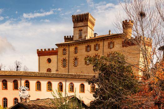 Barolo village in Italy