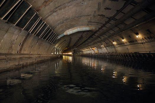 former secret submarine base