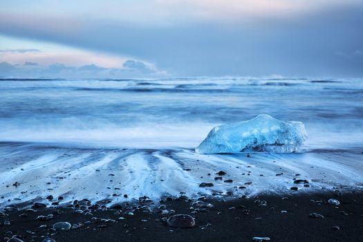 Beautiful Diamond beach