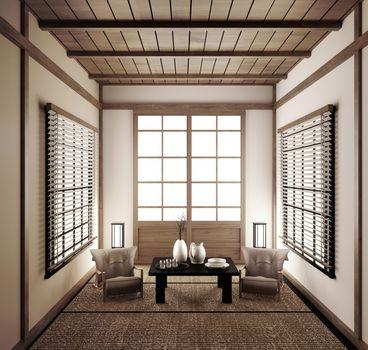 interior Japanese empty room tatami mat Designing the most beaut