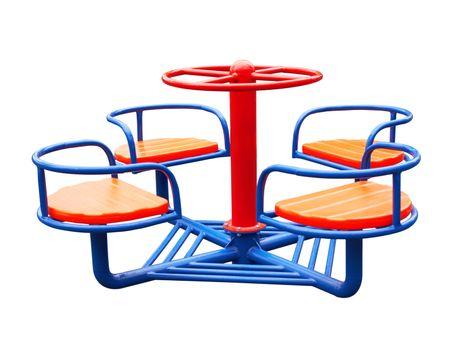 Merry-go-round isolated